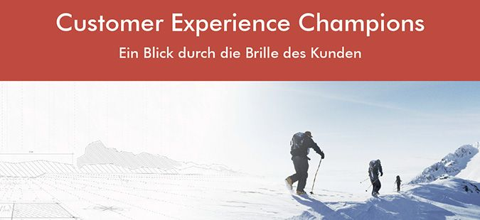 Professionelle Markenführung und Customer Experience Management lohnen sich – das zeigen die CX-Champions 2017