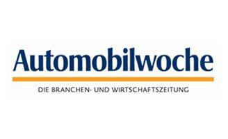 Artikel Mit dem Rückenwind der Rennstrecke I Logo Automobilwoche I The Brand Consultants GmbH