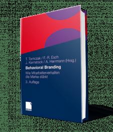 Buch Behavioral Branding - Wie Mitarbeiterverhalten die Marke stärkt von Prof. Dr. Esch I The Brand Consultants GmbH
