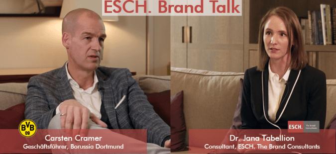 ESCH. Brand Talk mit Carsten Cramer, BVB-Geschäftsführer