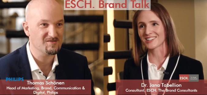 ESCH. Brand Talk mit Thomas Schönen, PHILIPS