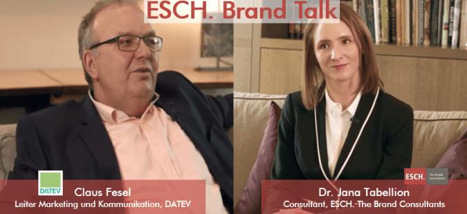 ESCH. Brand Talk mit Claus Fesel, DATEV