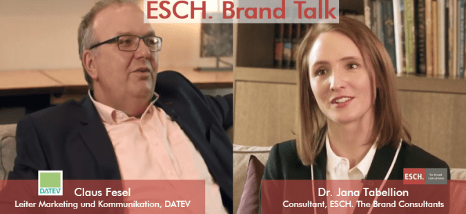 ESCH. Brand Talk mit Claus Fesel, DATEV