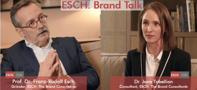 ESCH. Brand Talk mit Prof. Dr. Franz-Rudolf Esch, Gründer ESCH. The Brand Consultants