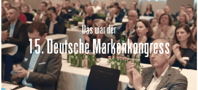 Deutscher Markenkongress 2019 – Aftermovie