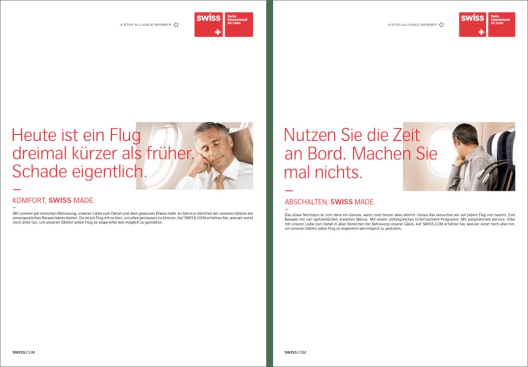 Swiss Kommunikation Umsetzung