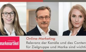 Markenartikel: Online-Marketing: Relevanz der Kanäle und des Contents für Zielgruppe und Marke sind wichtig l Im Strom der Technologie l ESCH. The Brand Consultants GmbH