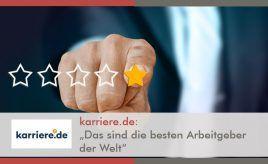 """Karriere.de: """"Das sind die besten Arbeitgeber der Welt"""" l """"Das sind die besten Arbeitgeber der Welt"""" l ESCH. The Brand Consultants GmbH"""