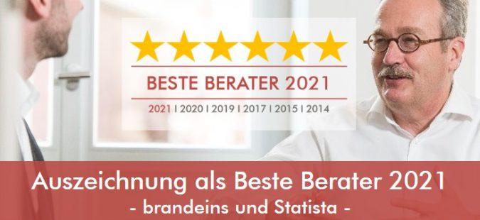brandeins & Statista – Auszeichnung als Beste Unternehmensberater 2021