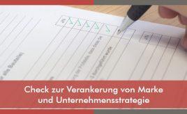 Check zur Verankerung von Marke und Unternehmensstrategie l Implementierung des Leitbildes & Change Management l ESCH. The Brand Consultants GmbH