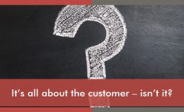 It's all about the customer - isn't it? l Customer Experience Execution l ESCH. The Brand Consultants GmbH
