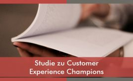 Studie zu Customer Experience Champions l Customer Experience Execution l ESCH. The Brand Consultants GmbH