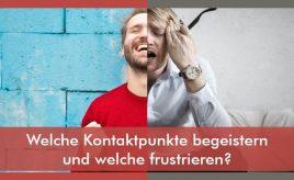 Welche Kontaktpunkte begeistern und welche frustrieren l Customer Touchpoint Management l ESCH. The Brand Consultants GmbH
